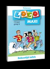 Loco Maxi Rekentijd, tafels groep 4