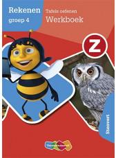 Z-Rekenen Tafels oefenen - groep 4 - Werkboek