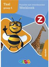 Z-Taal - Puzzelen met woordenschat Werkboek - Ajodakt groep 5