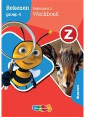 Z-Rekenen Rekenblok 2 Stenvert - groep 4 - Werkboek