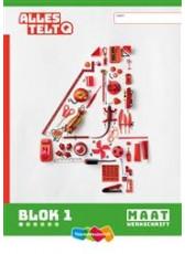 Alles telt Q 4 Maatwerkschrift blok 1 t/m 6