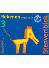 9789026224430 Stenvert Rekenen Realistisch 3