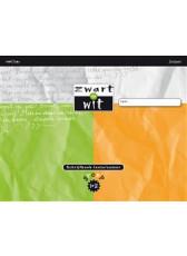 Zwart op wit - groep 1/2 - schrijfboek lente/zomer