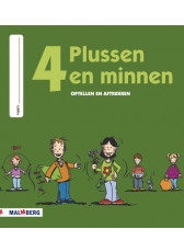 Plussen en minnen groep 4 werkboek
