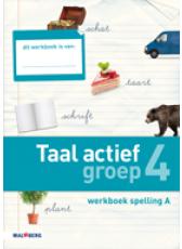 Taal actief 4e editie Spelling 4A werkboek