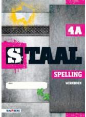 9789034571533 Staal Spelling groep 4 werkboek a