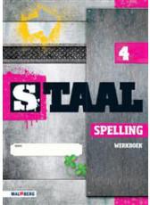9789034571588 Staal Spelling groep 4 werkboek b