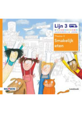 Lijn 3 - Leesboek 3 Smakelijk eten
