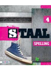 9789034581327 Staal Spelling groep 4 staalboek