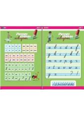 Pennenstreken v2 - 3 - letterposter blokschrift