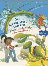 De spreekbeurt van Alin: een wandelende tak of vleesetende plant? (AVI E4)