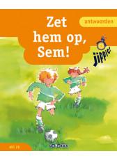 Jippie 4 Zet hem op, Sem! - antwoordenboek