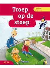 Jippie 5 Troep op de stoep - leesboek
