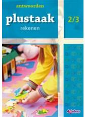 Plustaak Rekenen B-serie, 2/3 Antwoordenboek