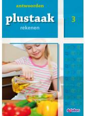 Plustaak Rekenen nieuw, 3 Antwoordenboek