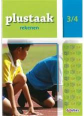 Plustaak Rekenen B-serie, 3/4 Werkboek