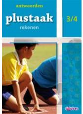 Plustaak Rekenen B-serie, 3/4 Antwoordenboek