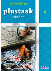 Plustaak Rekenen nieuw, 4 Antwoordenboek