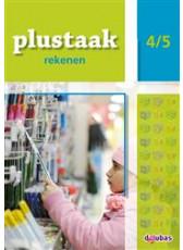 Plustaak Rekenen B-serie, 4/5 Werkboek