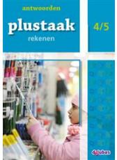 Plustaak Rekenen B-serie, 4/5 Antwoordenboek