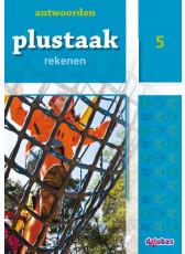 Plustaak Rekenen nieuw, 5 Antwoordenboek