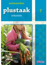 Plustaak Rekenen nieuw, 7 Antwoordenboek