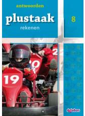 Plustaak Rekenen nieuw, 8 Antwoordenboek