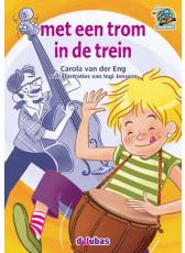 Samenleesboeken serie 6 - met een trom in de trein (M3, E3)