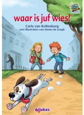 Samenleesboeken serie 6 - waar is juf wies? (M3, M4)