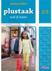 Plustaak Taal & Lezen Nieuw 2/3 antwoordenboek (Boeken)