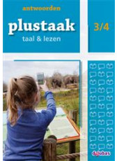 Plustaak Taal & Lezen Nieuw 3/4 antwoordenboek (Boeken)