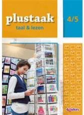 Plustaak Taal & Lezen Nieuw 4/5 werkboek
