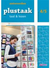 Plustaak Taal & Lezen Nieuw 4/5 antwoordenboek (Boeken)