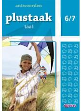 Plustaak Taal Nieuw 6/7 antwoordenboek