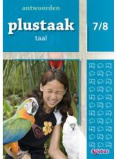 Plustaak Taal Nieuw 7/8 antwoordenboek