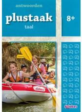 Plustaak Taal Nieuw 8+ antwoordenboek