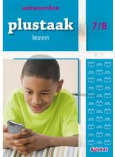 Plustaak Lezen Nieuw 7/8 antwoordenboek