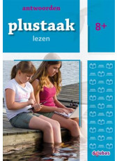 Plustaak Lezen Nieuw 8+ antwoordenboek