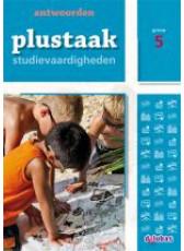 Plustaak Studievaardigheden 5 - antwoordenboek