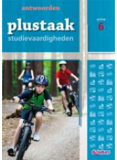Plustaak Studievaardigheden 6 - antwoordenboek