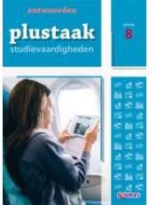Plustaak Studievaardigheden 8 - antwoordenboek