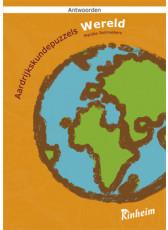 Aardrijkskundepuzzels wereld antwoordenboek