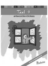 Blokboek Taal 4 - Antwoorden & Dictees