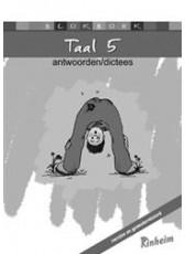 Blokboek Taal 5 - Antwoorden & Dictees (Boeken)