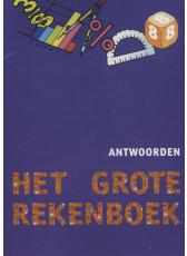 Het Grote Rekenboek - methode groep 8 antwoordenboek