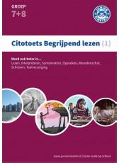 Citotoets begrijpend lezen 1 - Oefenboek - groep 7 en 8 (Boeken)