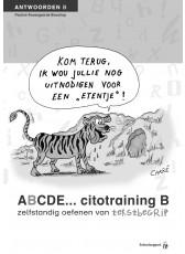 ABCDE cito tekstbegrip B antwoordenboek