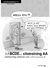 ABCDE cito tekstbegrip AA antwoordenboek