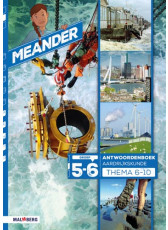 Meander 2 - groep 5-6 antwoordenboek thema 6 t/m 10