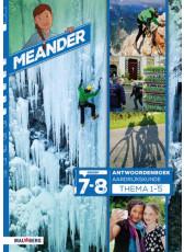 Meander 2 - groep 7-8 antwoordenboek thema 1 t/m 5